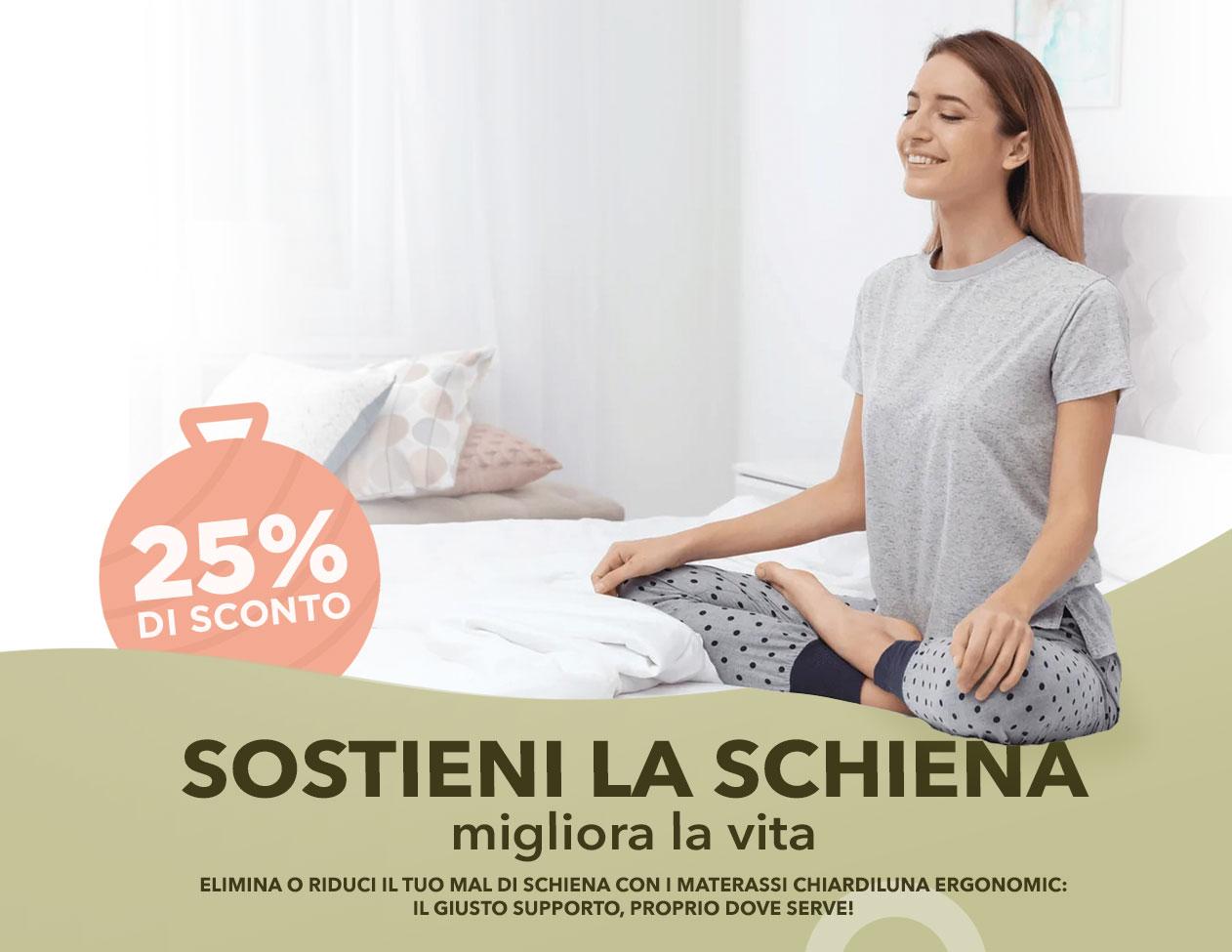 Chiardiluna - Sostieni la tua schiena, migliora la vita