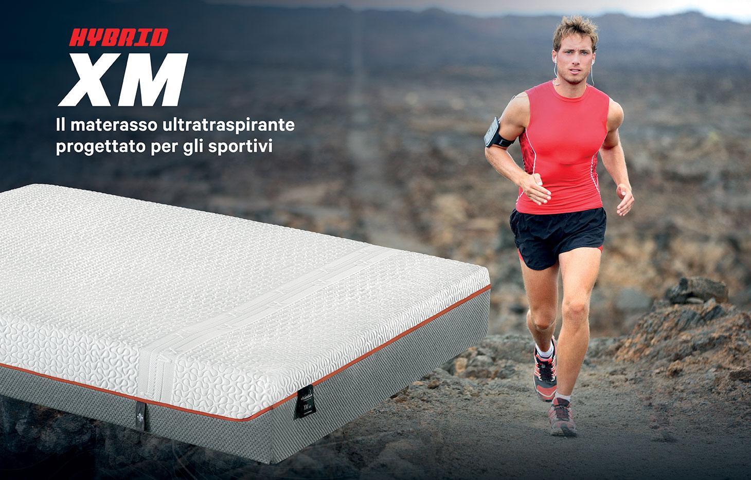 Chiardiluna - XM materasso per sportivi